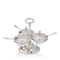 Greggio Triple Compartment Server with Spoons - Bloomingdale's_0