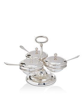 Greggio - Triple Compartment Server with Spoons