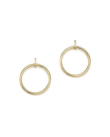 Bloomingdale's - 14K Yellow Gold Open Circle Post Earrings - 100% Exclusive