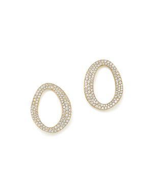 Ippolita 18K Yellow Gold Cherish Small Link Diamond Earrings