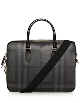 Burberry - Smoke Check Hambleton Briefcase