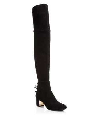 c4f48e26723 Tory Burch Women s Laila Suede Over-the-Knee Boots