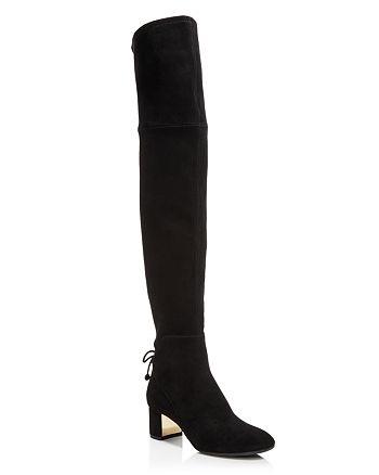 4c24e1fbe3c1 Tory Burch - Women s Laila Suede Over-the-Knee Boots