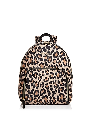 kate spade new york Watson Lane Hartley Leopard Print Nylon Backpack