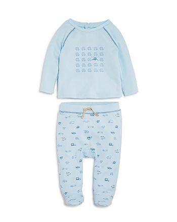 Absorba - Boys' Car Print Top & Footed Pants Set - Baby