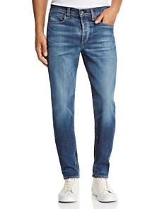 rag & bone - Fit 2 Slim Fit Jeans in Medium Blue