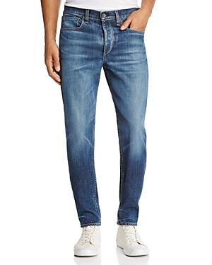 rag & bone Standard Issue Fit 2 Slim Fit Jeans in Medium Blue