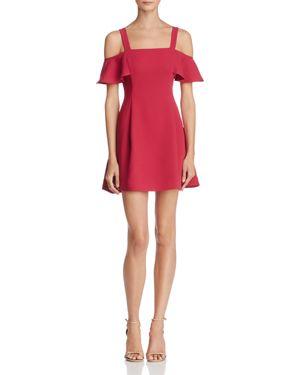 Likely Bellamy Cold-Shoulder Mini Dress
