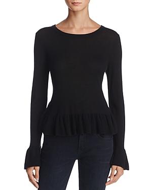 Joie Iona Wool-Silk Ruffled Sweater