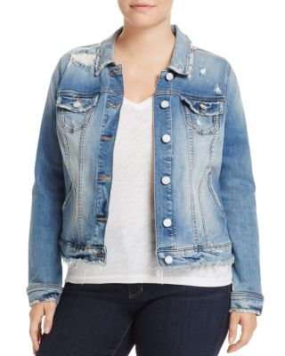 SLINK JEANS Denim Jacket in Keziah