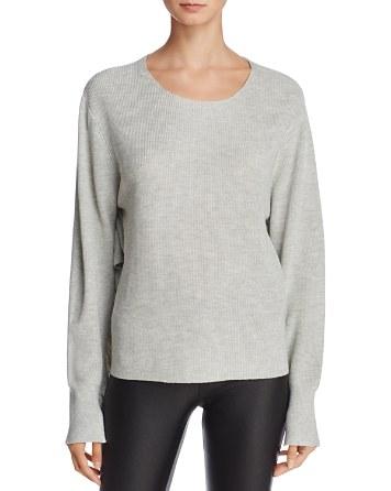 $John + Jenn Luna Ruffle-Sleeve Sweater - 100% Exclusive - Bloomingdale's