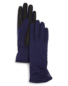 U/R Ruched Fabric Tech Gloves - Bloomingdale's_0
