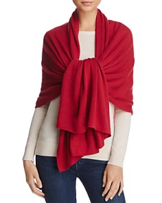 C by Bloomingdale's - Oversized Cashmere Travel Wrap - 100% Exclusive