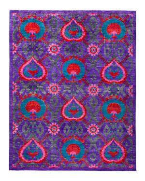Solo Rugs Suzani Area Rug, 8' x 10'