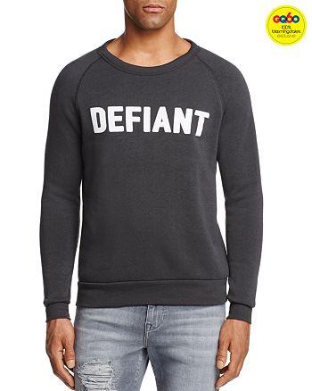Rosser Riddle - Defiant Graphic Sweatshirt, GQ60, 100% Exclusive