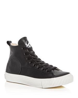 McQ Alexander McQueen Swallow Plimsoll High Top Sneakers