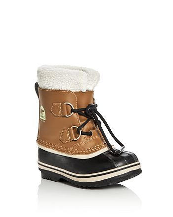 Sorel - Boys' Yoot Pac Leather Cold Weather Boots - Toddler, Little Kid