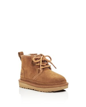 Ugg Boys' Neumel Ii Suede Lace Up Boots - Walker, Toddler thumbnail
