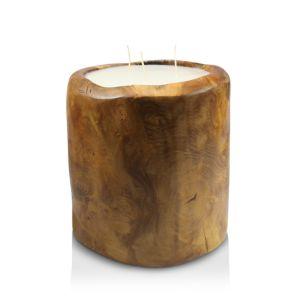 Volcanica Teakwood Bucket Candle