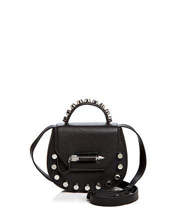 Mackage - Round Leather Crossbody Bag