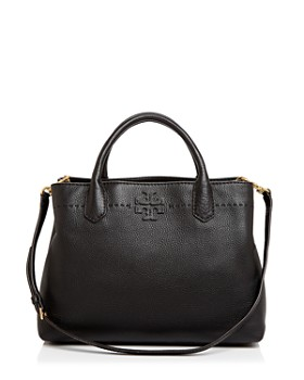 Tory Burch - McGraw Triple Compartment Leather Satchel