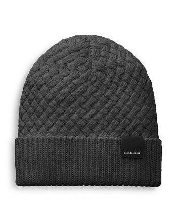 Canada Goose - Basket Weave Wool Knit Beanie