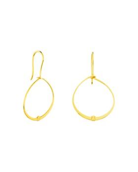 TOUS - Hoop Drop Earrings