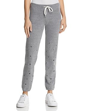 Monrow Star-Graphic Sweatpants