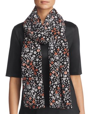 St. Emile Floral Silk Scarf