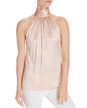 Ramy Brook - Paige Halter Silk Top