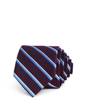 The Men's Store at Bloomingdale's Textured Multi Stripe Classic Tie - 100% Exclusive