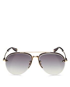 Givenchy - Women's Brow Bar Aviator Sunglasses, 62mm