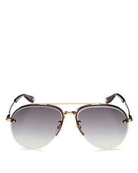 Givenchy - Women's Brow Bar Aviator Sunglasses, 62mm