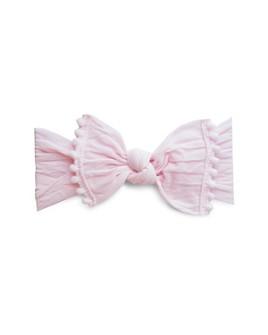 Baby Bling - Infant Girls' Pom-Pom-Trimmed Knot Headband