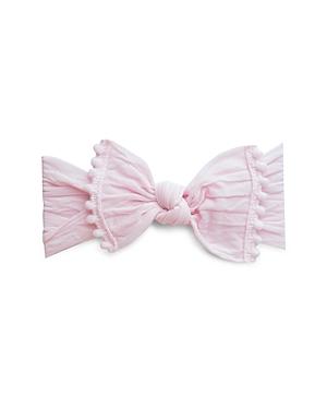 Baby Bling Infant Girls' Pom-Pom-Trimmed Knot Headband
