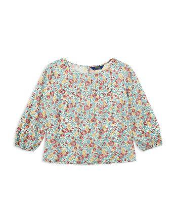 Ralph Lauren - Girls' Floral Print Top - Little Kid