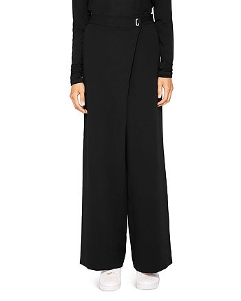 Ted Baker - Ted Says Relax Yasin Wide-Leg Wrap-Front Pants