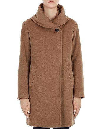 Gerard Darel - Gaia Shawl Collar Wool Coat