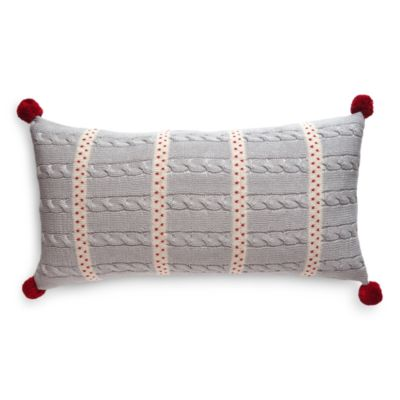 $Melange Dot Stripe Decorative Pillow, 10