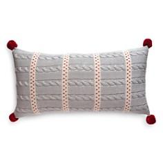 "Melange Dot Stripe Decorative Pillow, 10"" x 20"" - Bloomingdale's_0"