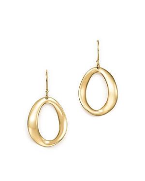 Ippolita 18K Yellow Gold Cherish Single Link Drop Earrings