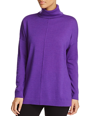 Eileen Fisher Wool Turtleneck Sweater