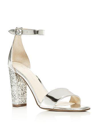 IVANKA TRUMP - Women's Emalyn Ankle Strap Block Heel Sandals