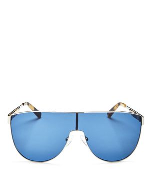 Kendall and Kylie Sasha Shield Sunglasses, 65mm