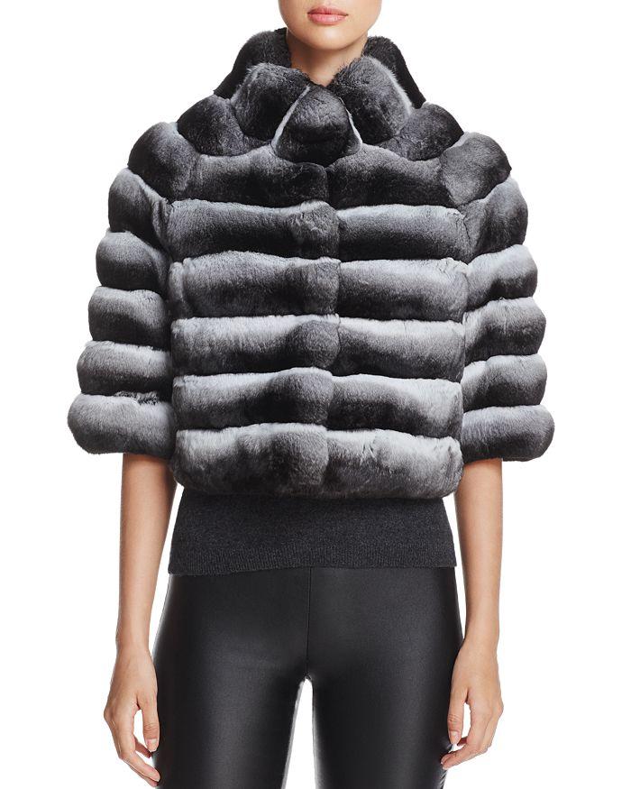 Maximilian Furs - Chinchilla Fur Bolero - 100% Exclusive