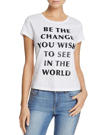 Alice and Olivia - Cicely Communi-T Graphic Tee
