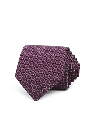 John Varvatos Star Usa Abstract Circle Classic Tie