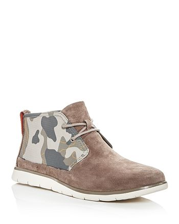 be4857b3b6e UGG® Men's Freamon Suede & Camo Chukka Boots   Bloomingdale's