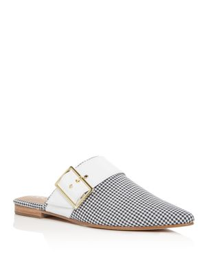ARCHIVE Women'S Bond Gingham Pointed Toe Mules in Multi