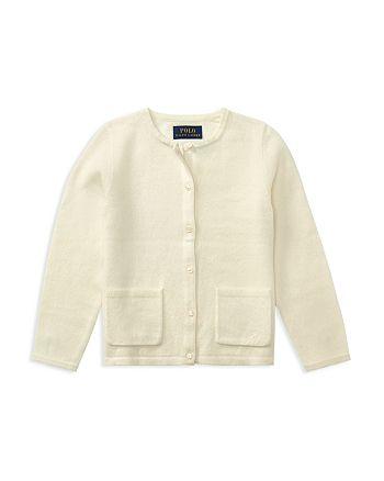 Ralph Lauren - Girls' Wool Cardigan - Little Kid